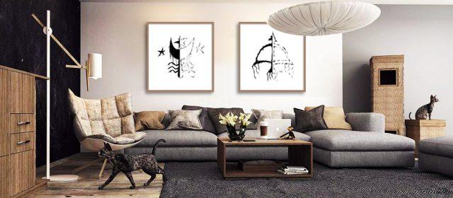 Arte digital: obras criadas em meios eletrônicos conquistam a decoração