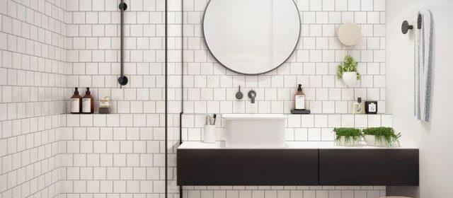Banheiros pequenos: dicas para unir beleza e funcionalidade