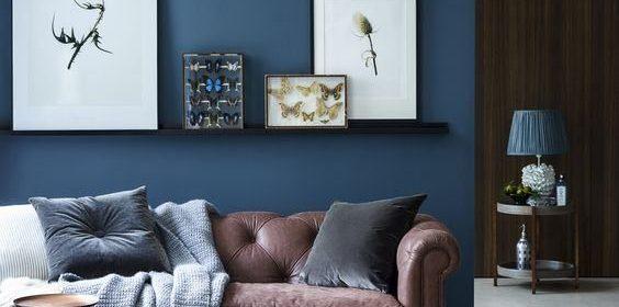 Décor em cores: incorpore a pintura das paredes na decoração de sua casa