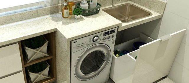 Veja dicas de como organizar uma lavanderia com pouco espaço