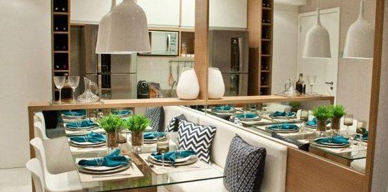 Conheça 5 dicas de como organizar uma sala de jantar com pouco espaço