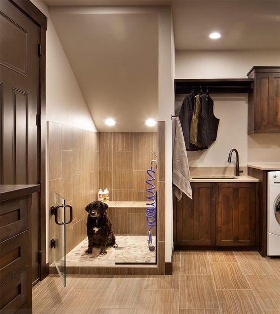 Large Mudroom Laundry Room